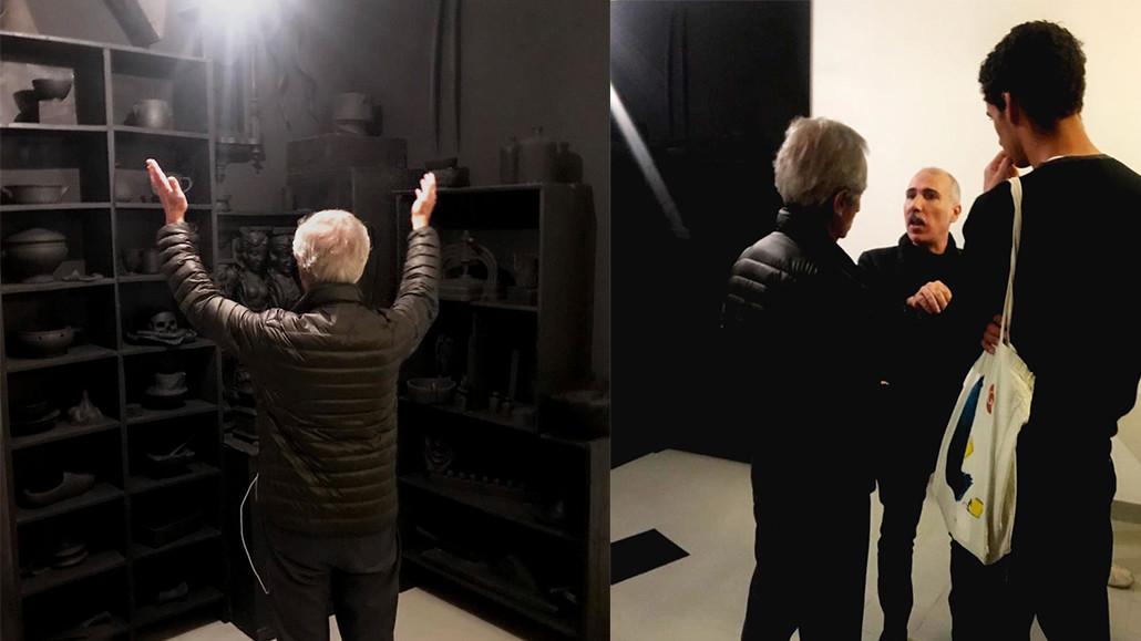 pinot gallizio gianmaria vernetti franz goria bernard blistène centre pompidou